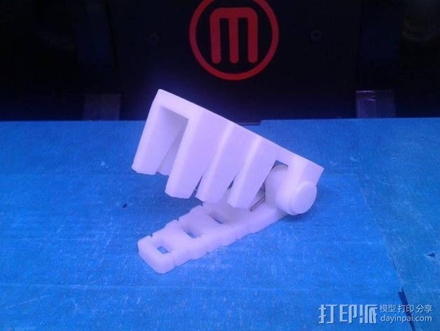 电阻器 弯曲机 3D模型  图1