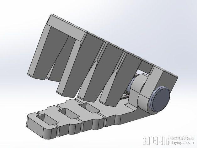 电阻器 弯曲机 3D模型  图2