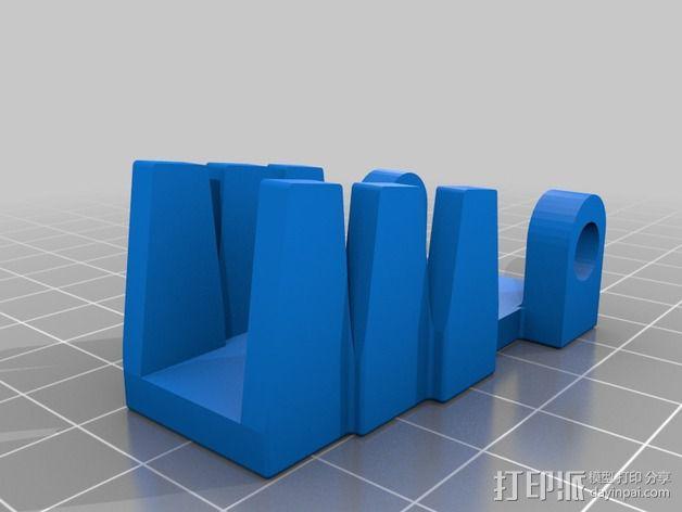 电阻器 弯曲机 3D模型  图6
