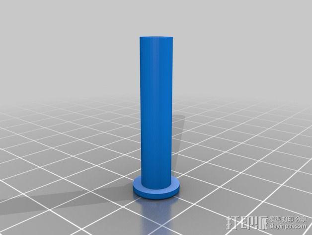 电阻器 弯曲机 3D模型  图8