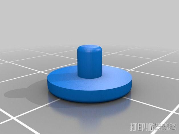 电阻器 弯曲机 3D模型  图9