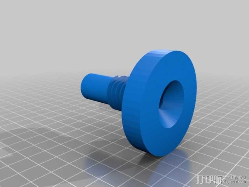 真空袋成型 阀门 3D模型  图1