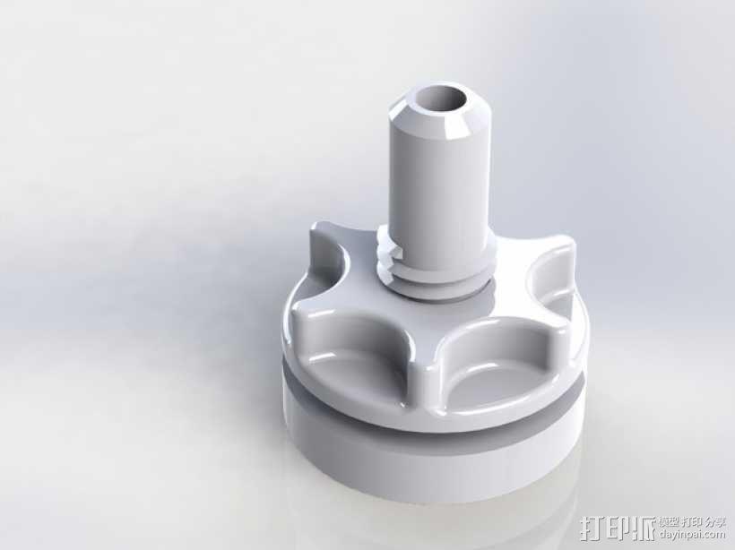 真空袋成型 阀门 3D模型  图3