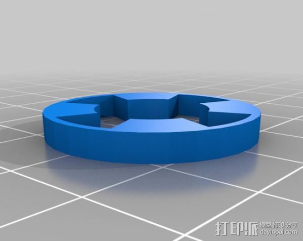 参数化爪形联轴器 3D模型  图6