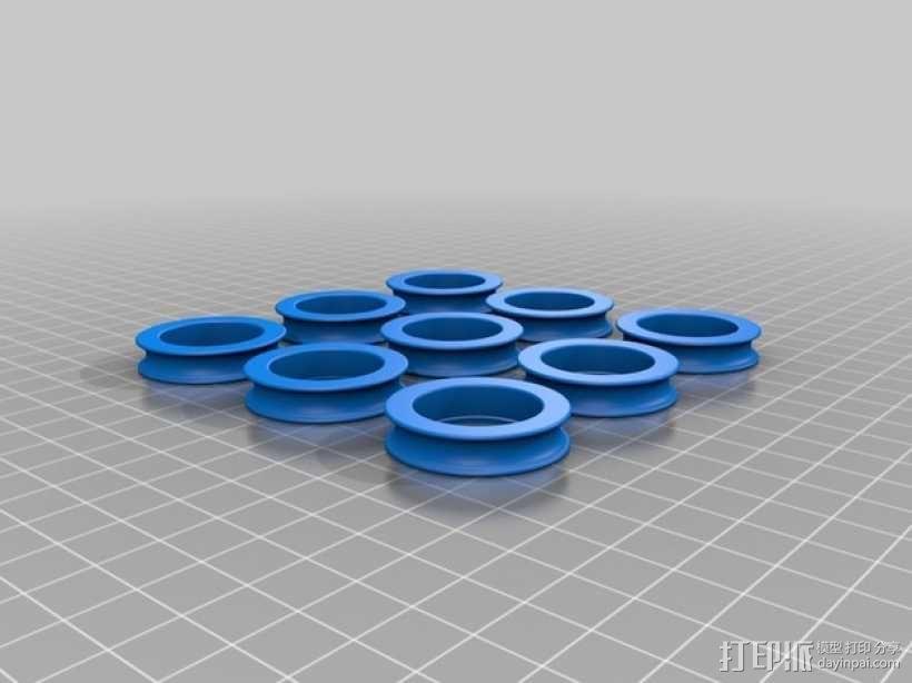 轴承套圈 3D模型  图1