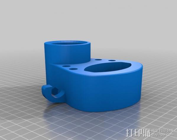 自行车工具架 3D模型  图4