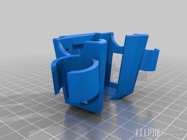 听诊器 存放架 3D模型  图1