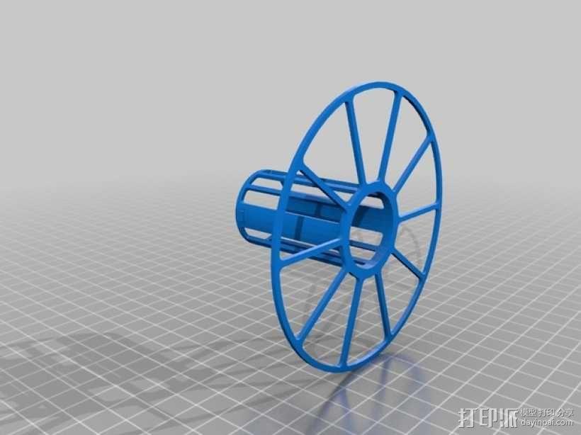 电缆卷绕器 3D模型  图4