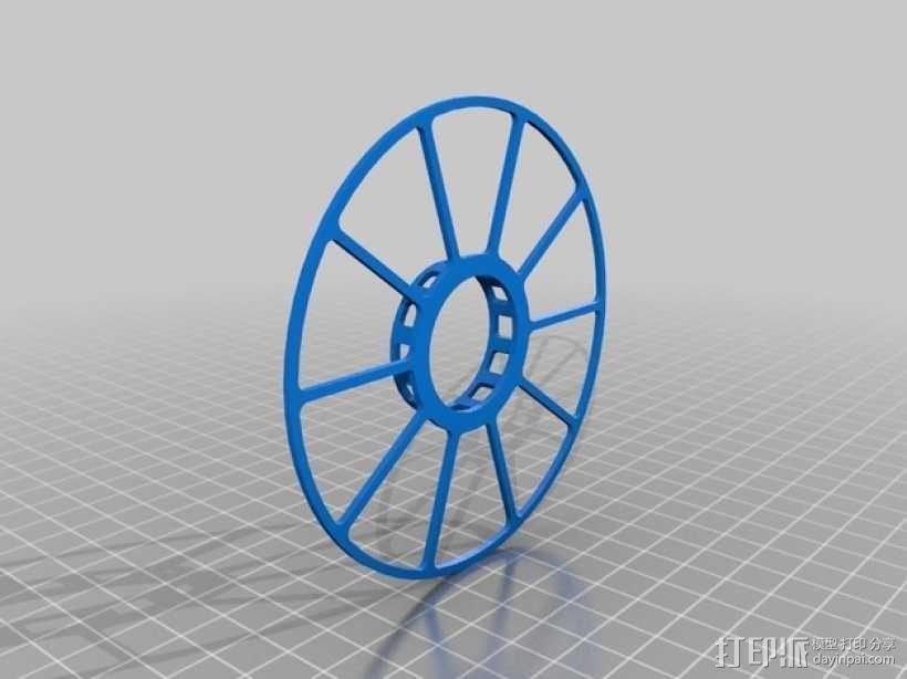 电缆卷绕器 3D模型  图5