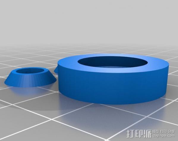 参数化合套轴承  3D模型  图3