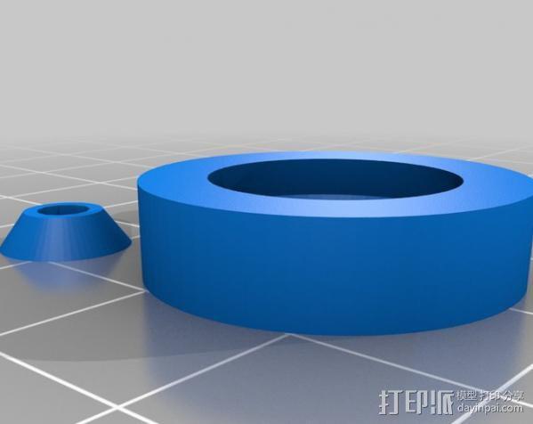 参数化合套轴承  3D模型  图5