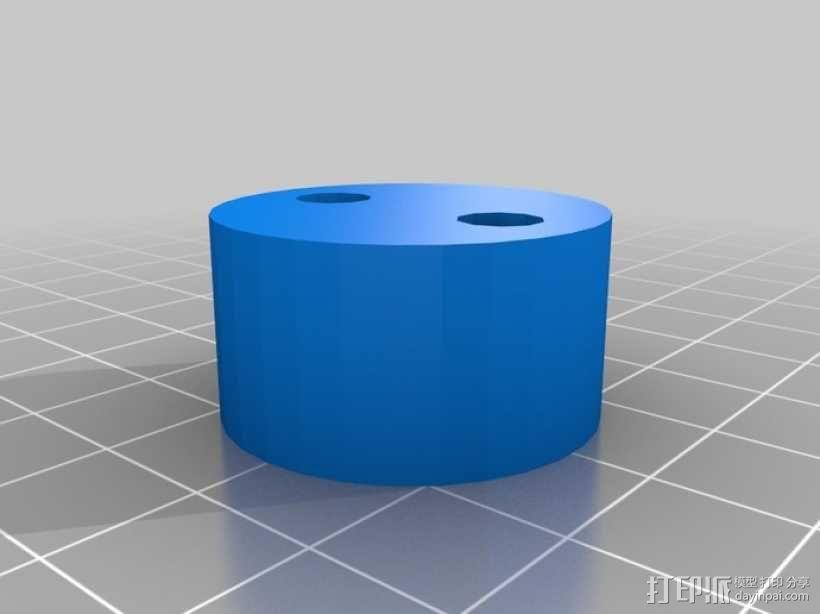 参数化马达外壳 3D模型  图3