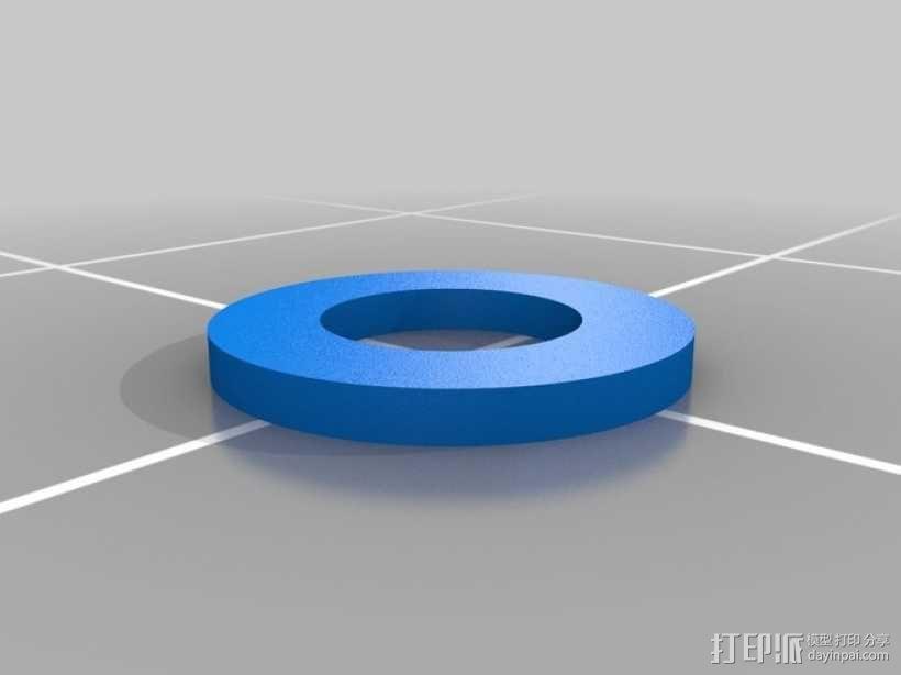 定制化垫圈  3D模型  图1
