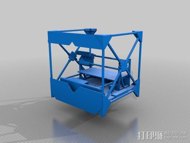 CNC设备外壳 3D模型  图3