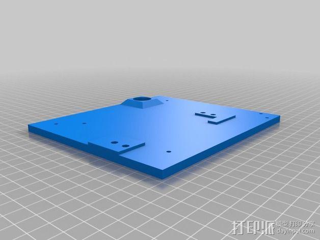 CNC设备外壳 3D模型  图15