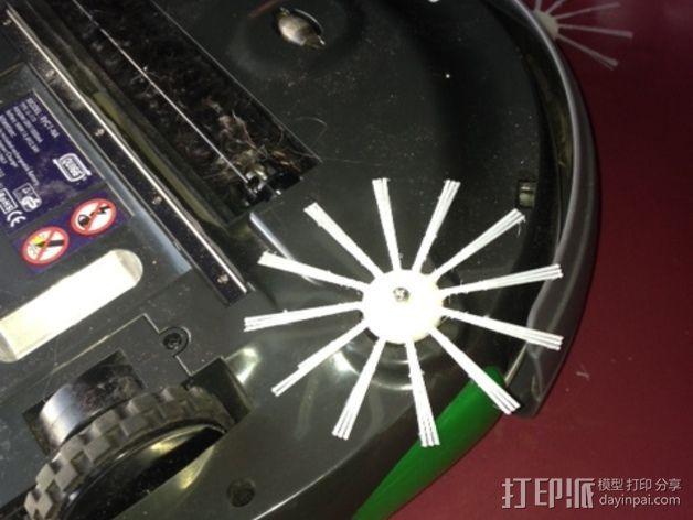 智能自动吸尘机  刷子 3D模型  图8