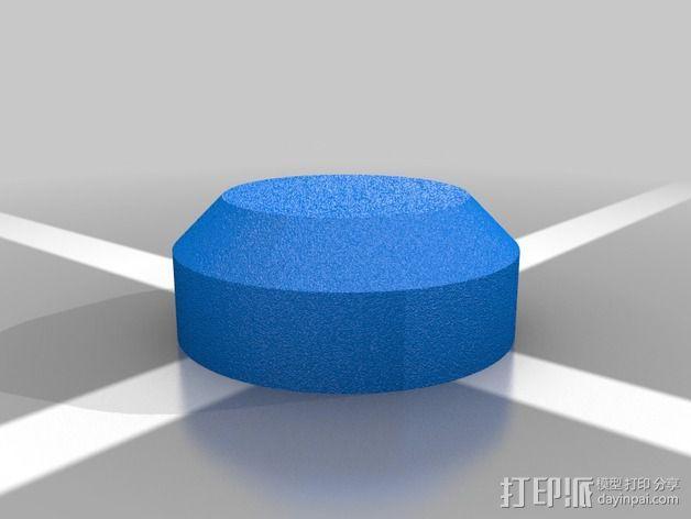 车身螺栓 保护套 3D模型  图2
