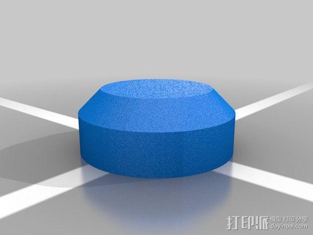 车身螺栓 保护套 3D模型  图3