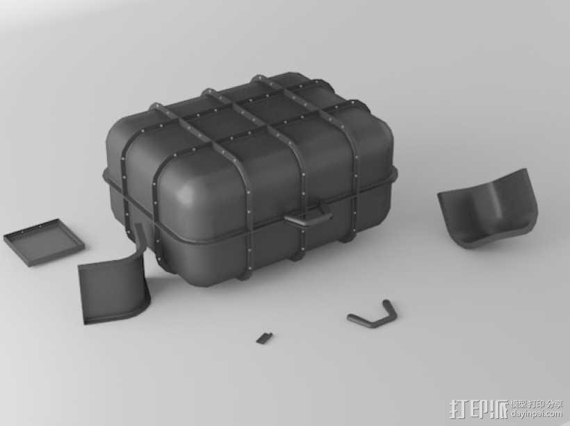模块化小盒 3D模型  图1