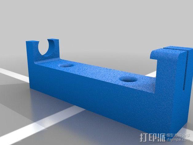 Xacto雕刻刀固定架 3D模型  图2