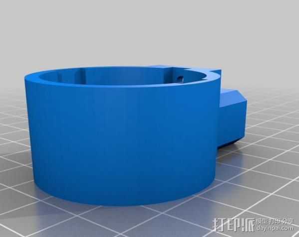 USB显微镜座 3D模型  图8