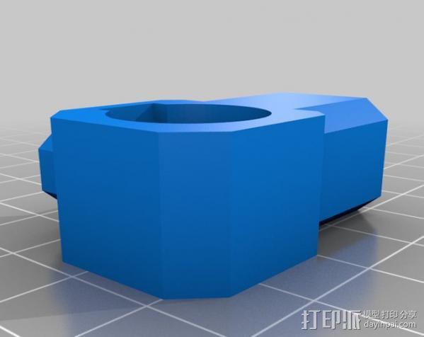 USB显微镜座 3D模型  图7