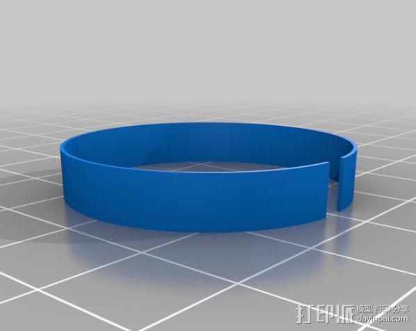 USB显微镜座 3D模型  图10