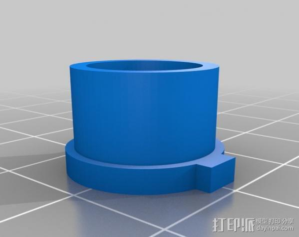 USB显微镜座 3D模型  图11