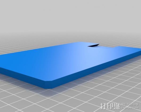 USB显微镜座 3D模型  图13