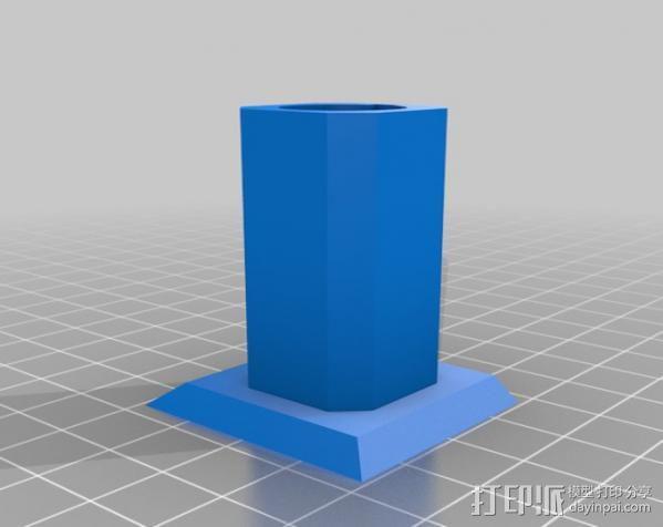 USB显微镜座 3D模型  图12