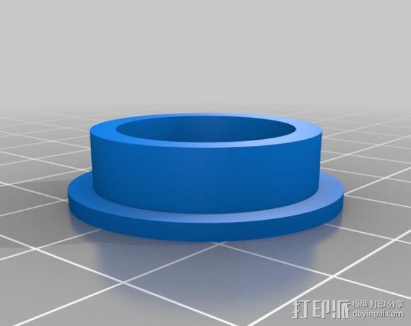 USB显微镜座 3D模型  图15