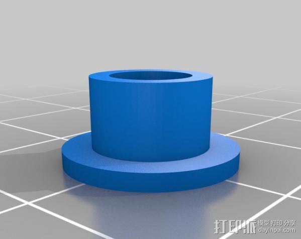 USB显微镜座 3D模型  图16