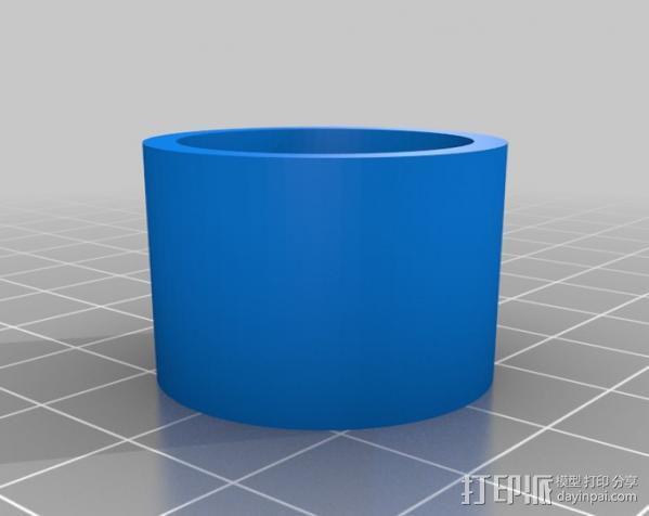USB显微镜座 3D模型  图17