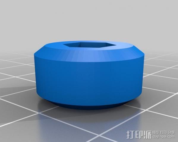 USB显微镜座 3D模型  图18