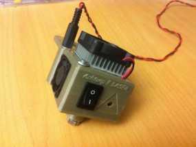 数控铣床激光器外壳 3D模型
