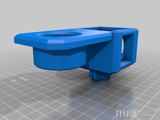 数控铣床激光器外壳 3D模型  图4