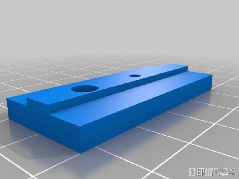 导杆 装配夹具 3D模型  图2