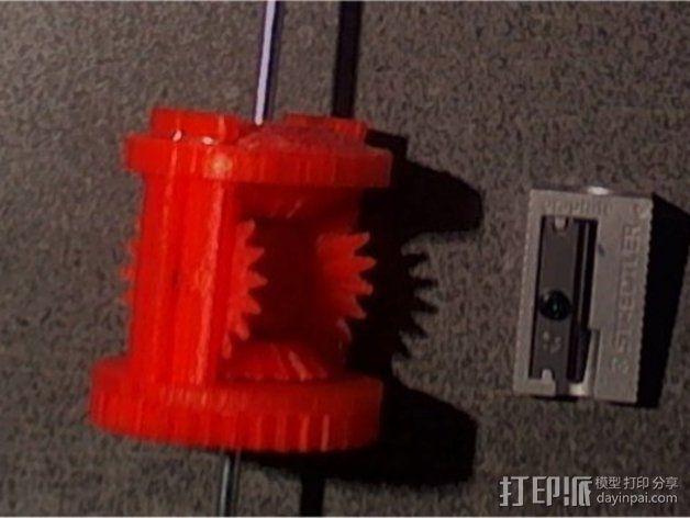 机械设备零部件 差动总成 3D模型  图1