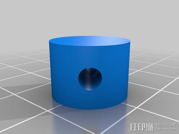 机械设备零部件 差动总成 3D模型  图3