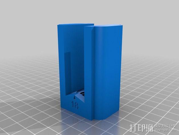 Dremel电钻辅助零部件 3D模型  图3