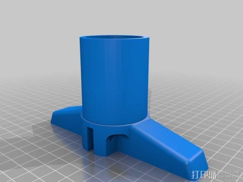 管道配适器 3D模型  图3