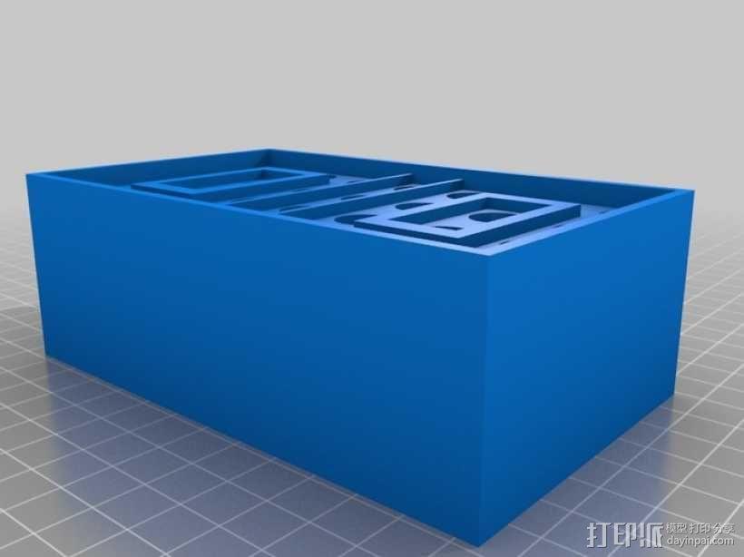 弹药箱  3D模型  图1