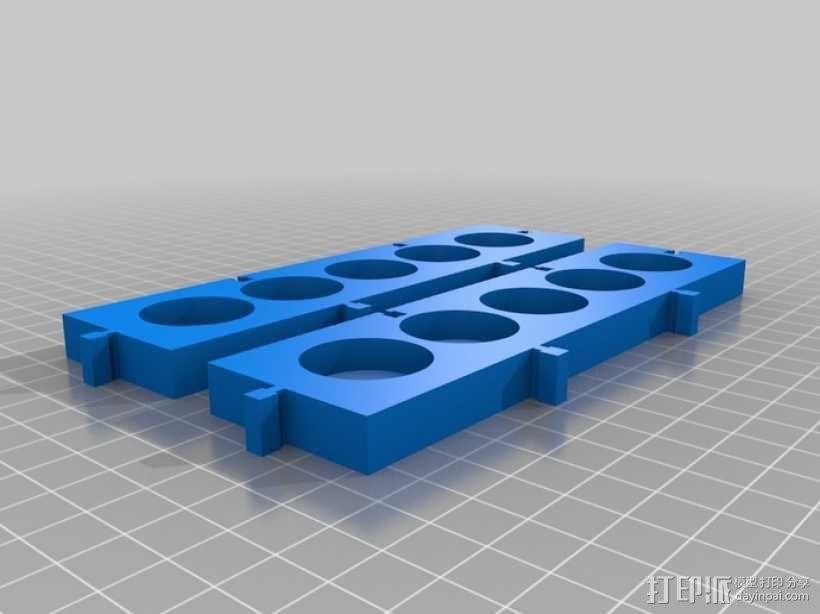 模块化调色板 3D模型  图2