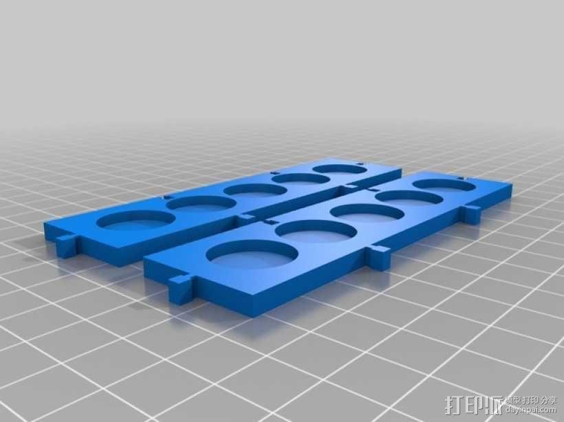 模块化调色板 3D模型  图1