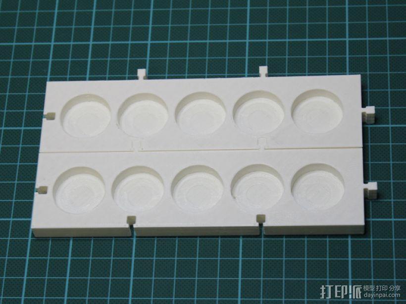 模块化调色板 3D模型  图6