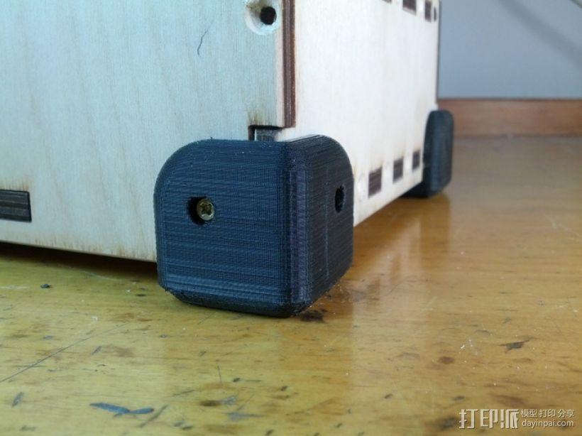 printrbot GO 3D打印机机角保护套 3D模型  图3