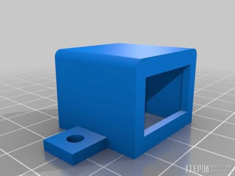 开关盒 外壳 3D模型  图2