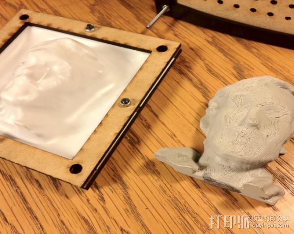 真空成形机 3D模型  图4