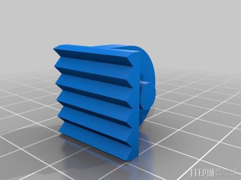 爪钩 V2 3D模型  图1