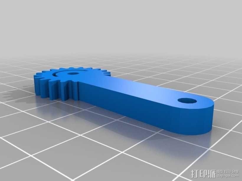 爪钩 V2 3D模型  图3